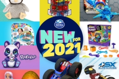 Spin Master-Spin Master Taps Hottest Toy Trends for 2021 Lineup