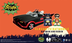 Mezco Toys is proud to partner with Warner Bros. Consumer Products, on behalf of DC Entertainment, to produce toys and vehicles based on the classic 1960's Batman Classic TV Series. […]