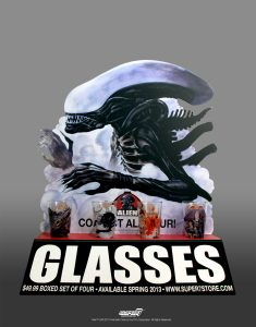 These four glasses present a memorable scene from the movie on the front side, featuring colorful artwork created exclusively for this Gift Set. The backs reveal the four-part lifecycle of […]