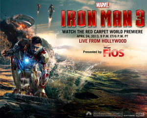 Marvel proudly invites one and all to experience the World Premiere of the Marvel Studios' film MARVEL'S IRON MAN 3, LIVE from Hollywood! On April 24, 2013 at 6:00 PM […]