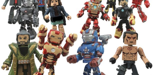 "With the movie's release date only a month away, Diamond Select has finally unveiled the remaining three figures from their assortment of ""Iron Man 3"" Minimates, and all three are […]"