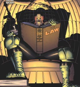 Following the success of their ongoing series of new Judge Dredd comics, IDW is bringing 2000 AD's classic stories back as they've never been seen before… in color! Beginning with […]