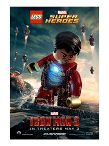 On behalf of Marvel's Iron Man 3, here are the official theatrical posters in LEGO® form! These iconic characters are exclusive LEGO minifigure replicas found in LEGO Marvel Super Heroes […]