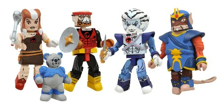 Fan reaction to Icon Heroes' line of Classic ThunderCats Minimates has been phenomenal, and Art Asylum has been putting everything they have into their designs for the two-inch mini-figure line. […]