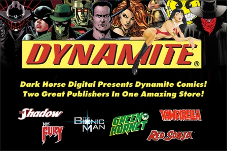 To celebrate, Dark Horse proudly welcomes Dynamite Entertainment comics to its digital store! Dark Horse Digital reaches a new landmark, turning two years old this coming weekend. To thank its […]