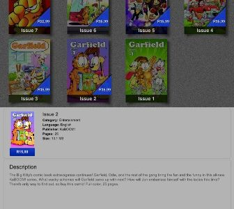 GARFIELD COMICS BY KaBOOM! STUDIOS APP IS NOW LIVE ON iTUNES KaBOOM! Studios is proud to announce the official launch of the iTunes app GARFIELD COMICS by KaBOOM! The new […]