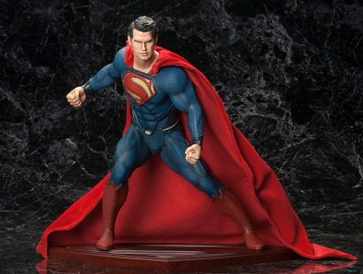A Kotobukiya Japanese import! This summer marks the big screen return of DC Comics' Superman in Man of Steel, directed by Zack Snyder and produced by Christopher Nolan of the […]