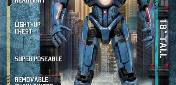 The main hero as a deluxe 18″ figure including enhanced sculptural details, attachable chain-sword weapon, and lights on the chest and head. Not only an impressive height but has an […]
