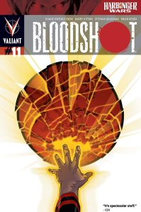 Valiant is proud to present an advance preview of Bloodshot #11 from the all-star creative team of writer Duane Swierczynski and artist Barry Kitson! Bloodshot continues his one-man incursion behind […]