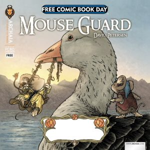For Free Comic Book Day, Archaia is proud to present a square flip book containing a collection of original short stories from some of its all-reader-friendly titles! In David Petersen's […]