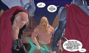 King Thor is so...snarky!