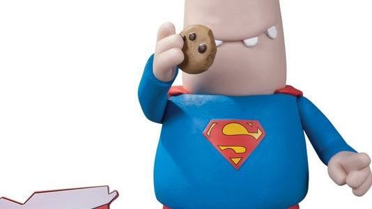 The Man of Steel is coming to Comic-Con, and he's bringing … cookies? A Superman action figure, with spit curl, S-shield and a super-sized midriff in the witty style of […]