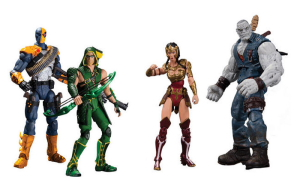 Hello again toy fans. Today's review is the new Injustice figures from D.C. Collectibles. The sets include Green Arrow and Deathstroke, and Wonder Woman, and Solomon Grundy. I was excitingly […]