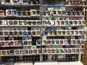 Wall o' Pop! Figures from Funko!