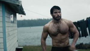 henry cavill shirtless man of steel