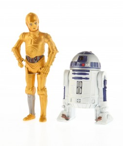 MS R2D2 and C3PO