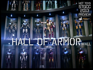5._Hot_Toys_booth_@_STGCC_1_to_6_scale_Hall_of_Armor_Wall