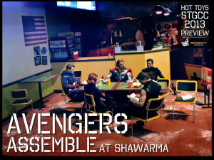 6._Hot_Toys_booth_@_STGCC_Avengers_Assemble_at_Shawarma_diorama