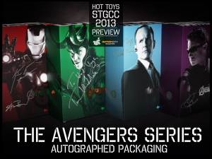 8._Hot_Toys_booth_@_STGCC_The_Avengers_Series_Autographed_by_Movie_Cast