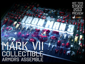 9._Hot_Toys_booth_@_STGCC_Iron_Man_3_Mark_VII_Collectible_Armors_Assemble