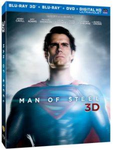 Man Of Steel Combo 3D