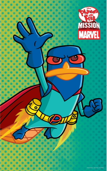 Mission Marvel Poster Perry