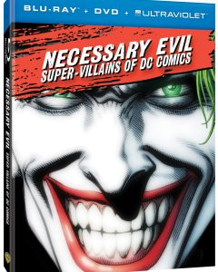 """Necessary Evil: Super-Villains of DC Comics,"" an all-new documentary produced by Warner Bros. Home Entertainment and DC Entertainment, arrives on Blu-ray Combo Pack and DVD today — Friday, October 25, […]"