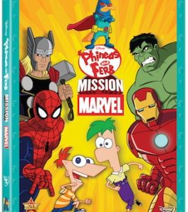 Worlds truly collide in the new DVD PHINEAS AND FERB: MISSION MARVEL. In this DVD, the Marvel Universe exists in the same universe as Phineas and Ferb. The Marvel heroes […]