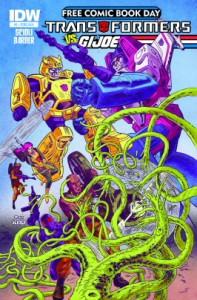 Transformers vs. GI Joe #0 FCBD 2014