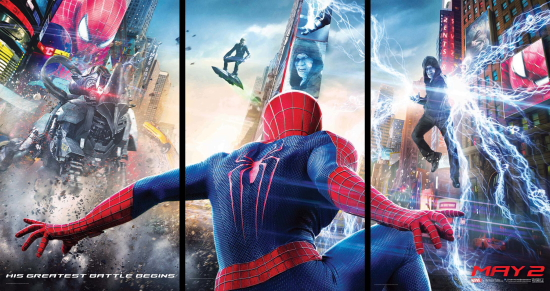 Sony has released the trailer for THE AMAZING SPIDER-MAN 2 We've always known that Spider-Man's most important battle has been within himself: the struggle between the ordinary obligations of Peter […]