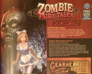 previews jan 2014 zombie fairy tales