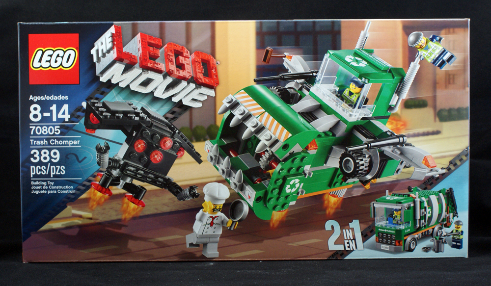 Toy Review: The Lego Movie Trash Chomper (Lego) | The Fanboy Factor