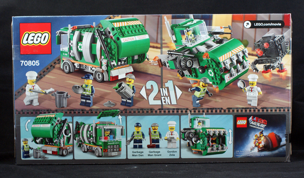 toy review the lego movie trash chomper lego the fanboy factor