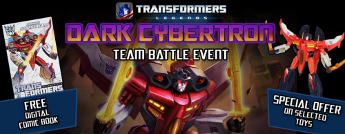 Hasbro, DeNA and IDW Publishing today announced a collaboration to bring Dark Cybertron to life in a new interactive experience for the action-packed mobile card battle game TRANSFORMERS: LEGENDS. Fans […]