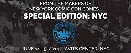 LIMITED, EXCLUSIVE AND JUST FOR YOU… REEDPOP ANNOUNCES INAUGURAL COMIC BOOK EVENT – SPECIAL EDITION: NYC New festival connects fans and creators in birthplace of comics on June 14-15 – […]