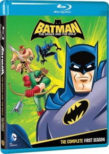 Batman The Brave and The Bold The Complete First Season Cover