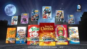 GENERAL MILLS DC COMICS