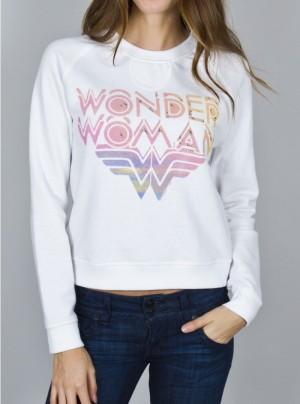 Junk Food Wonder Woman Sweatshirt