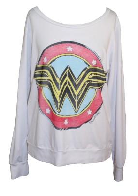 Lauren Moshi - Wonder Woman pullover white