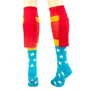 Wonder Woman Caped Socks - back