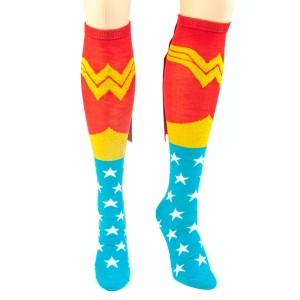 Wonder Woman Caped Socks - front