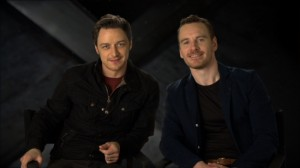 James McAvoy and Michael Fassbender - XMEN DAYS OF FUTURE PAST