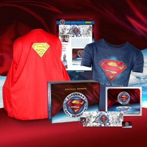 Superman Hall of Heroes Induction Package