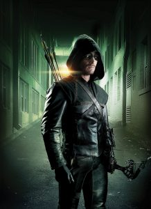 Stephen Amell stars as Oliver Queen in Warner Bros. Television's Arrow, which is based on the characters from DC Comics. The show returns for its third season October 8, airing Wednesdays 8/7c on The CW. (Photo Credit: © Warner Bros. Entertainment Inc. All Rights Reserved.)