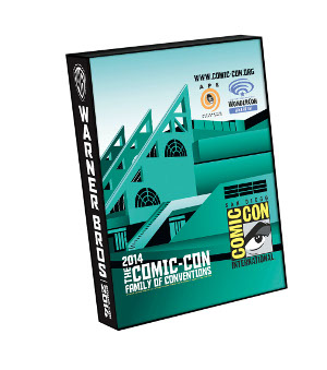 COMIC-CON SIDE Official 2014 Bag