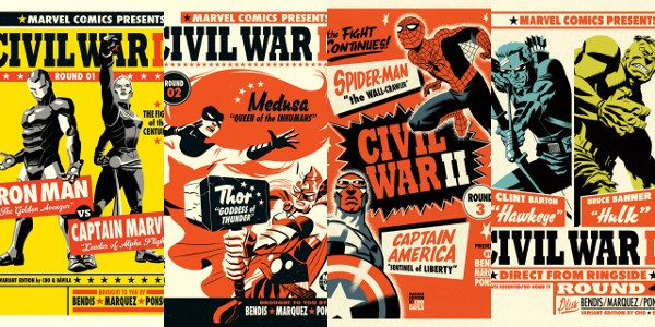 You already saw his striking variant covers to your favorite Marvel titles in February. But now, acclaimed illustrator Michael Cho looks to put his iconic stamp on the comic event […]