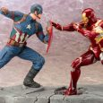 As the heroes of the Marvel Universe square off against one another in the upcomingCaptain America: Civil War Kotobukiya is excited to unveil their inaugural ARTFX+ releases from this sure-to-be […]