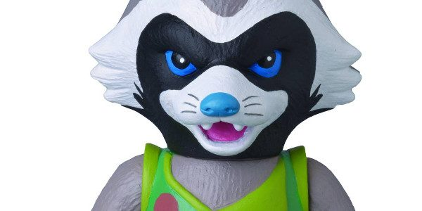 The April PREVIEWS catalog features the exclusive soft vinyl Sofubi of Guardian of the Galaxy's Rocket Raccoon! From the MEDICOM Toy Corporation, this expert marksman is available for fans to […]