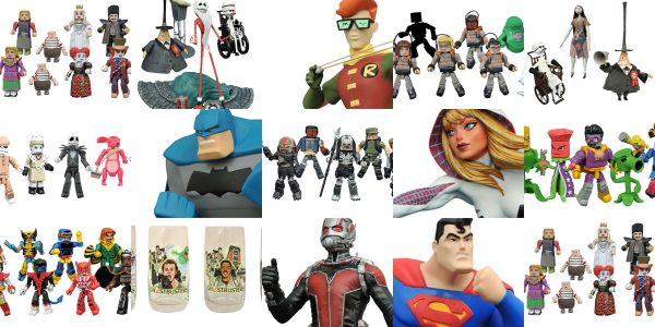 April showers may bring May flowers, but they also bring new toy and collectible offerings from Diamond Select Toys! These items won't ship until late summer or early fall, but […]
