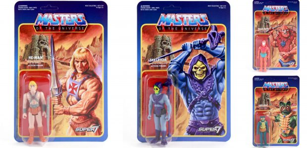 Now you can relive all the exciting action of Masters of the Universe! Skeletor, the Evil Lord of Destruction and his henchmen face off against He-Man, the Most Powerful Man […]
